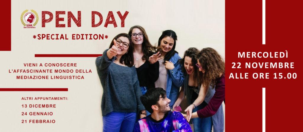 Open Day Mediazione Linguistica