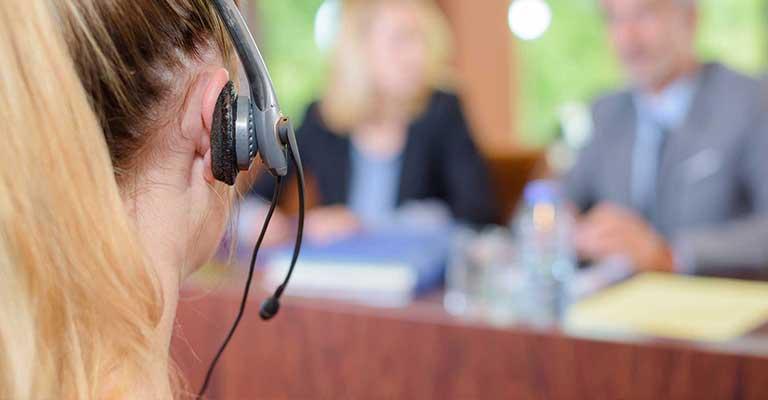 interprete di conferenza