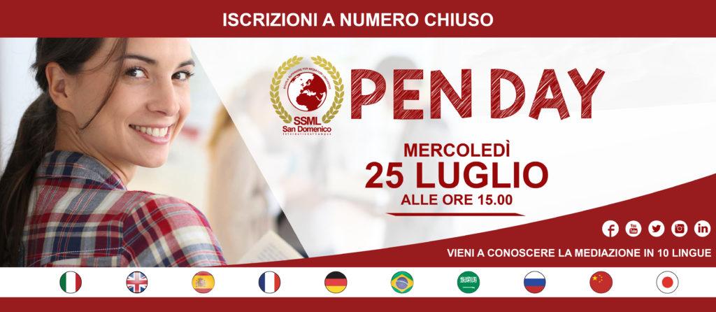 Open Day Luglio
