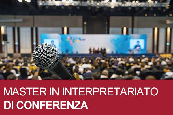 master interpretariato di conferenza