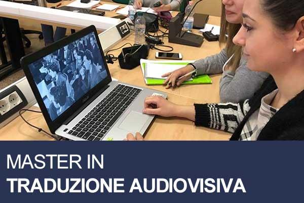 Master traduzione audiovisiva roma