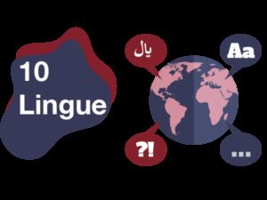 10 lingue di studio